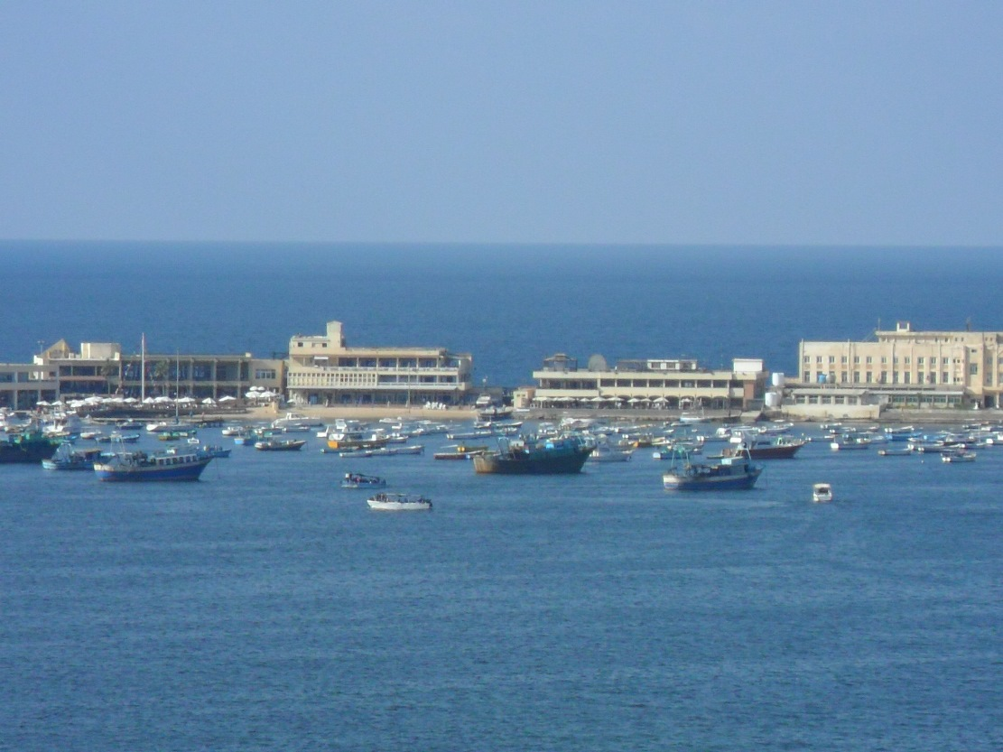 port_de_peche_d_alexandrie_egypte